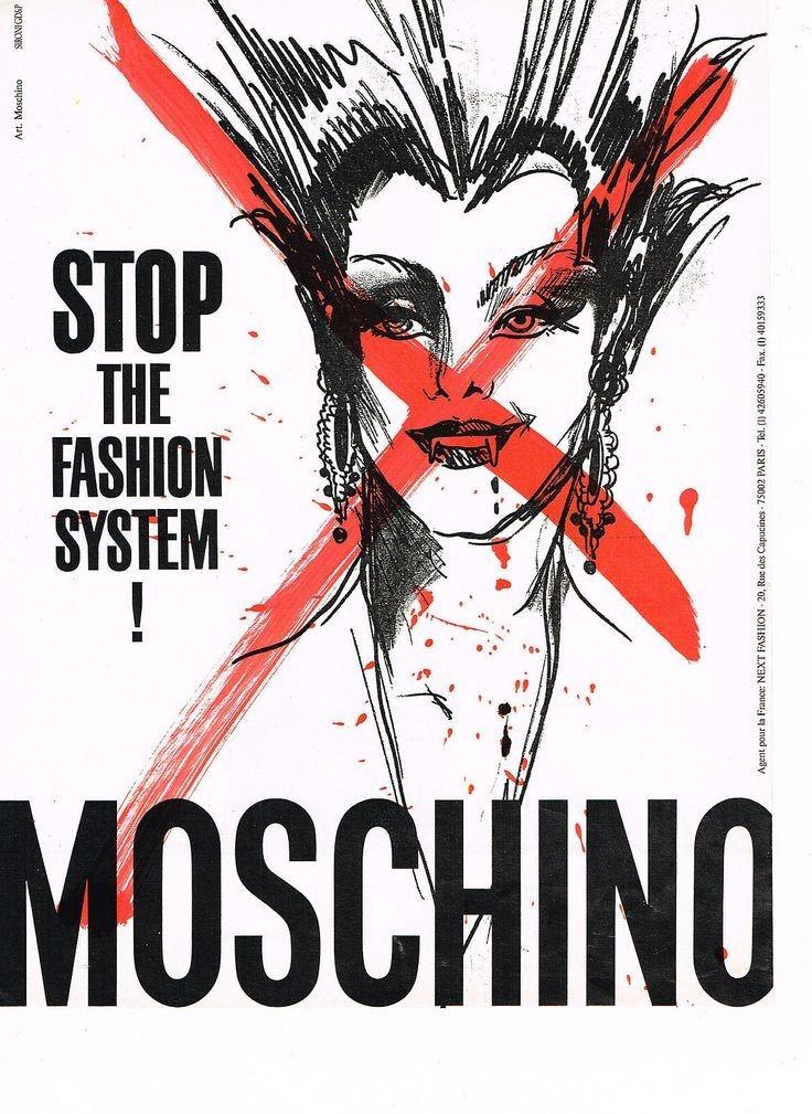 Moschino stop