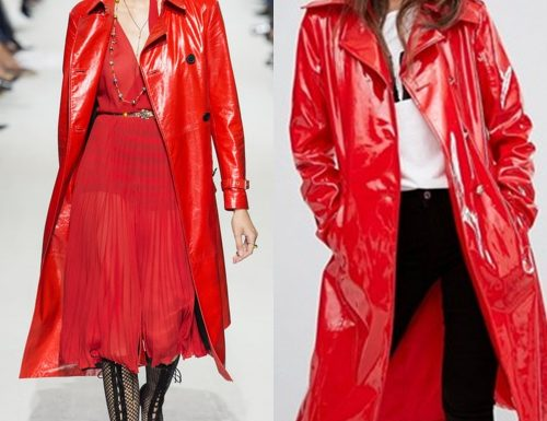Il trench: proposte audaci dalle passerelle della Fashion Week