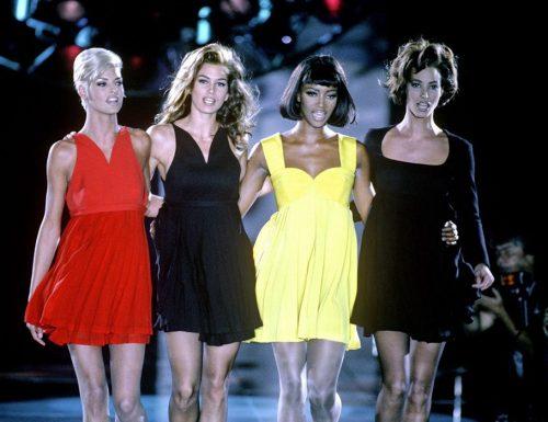 Le top models, il fenomeno nato negli anni Novanta