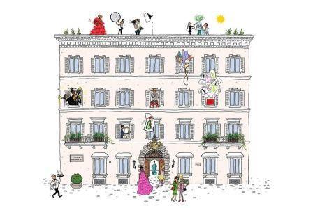 Chez Maison Valentino: un tour digitale di casa Valentino